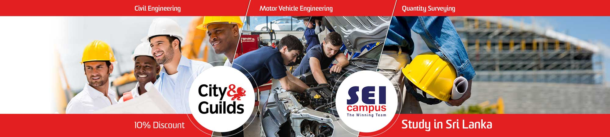 City and Guilds Courses at SEI Campus, Sri Lanka