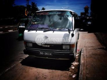 Toyota Hiace Shell model van for sale