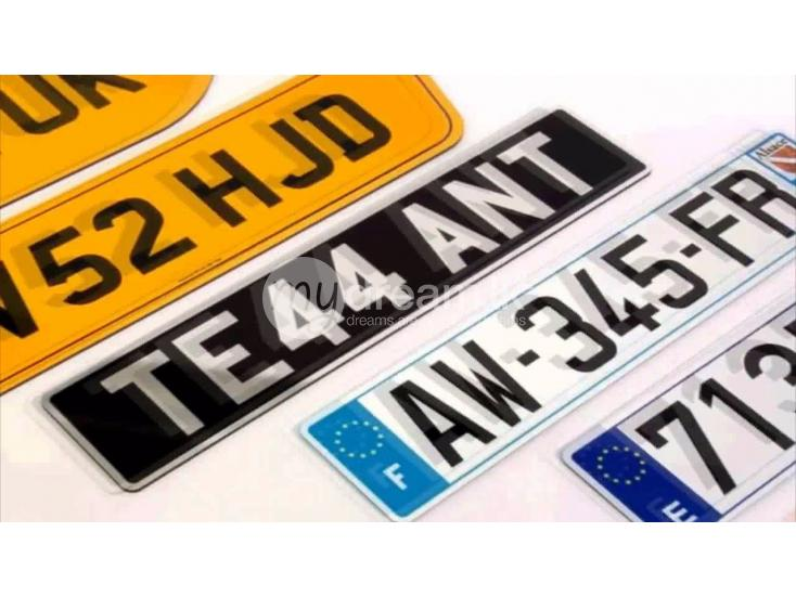Services Vehicle Number Plates Digital Printing Pannipitiya
