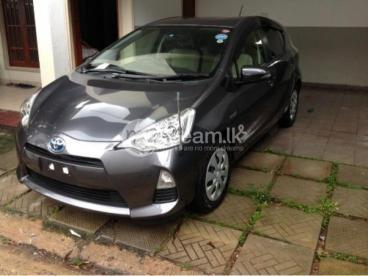 Toyota Aqua hybrid 2013 - Unregisterd