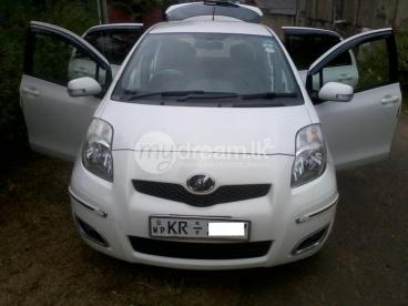 Toyota vitz for longterm rent