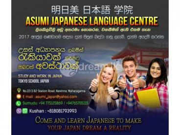 Study in Japan (Japanese classes)