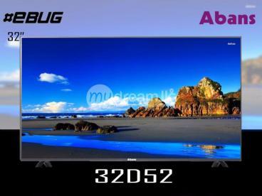 "ABANS 32"" HD READY LED TV"