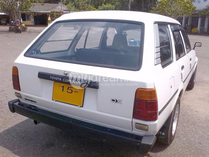 Cars Amp Suvs Toyota Corolla Dx Wagon Ke 72 Kottawa Mydream Lk