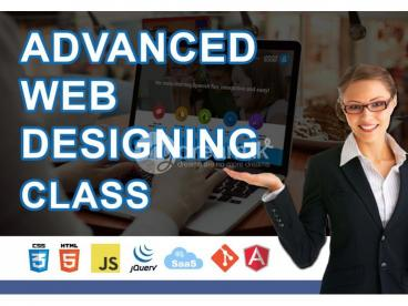 Advanced Multimedia Web Design - Class
