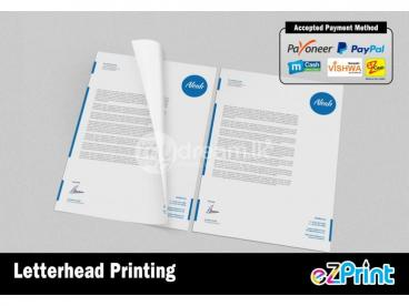 Letterhead Printing