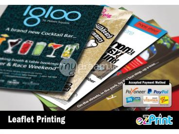 Leaflet Printing