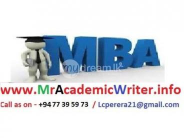 Spacial MBA PROJECT WRITER WITH SPSS etc