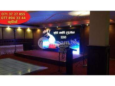Led Video Wall/Screens/Display For Rent Sri Lanka Colombo