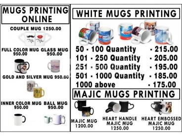 Mug Printing in Sri Lanka Online with Delivery