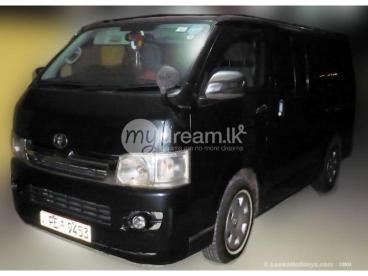 Comfortable Dual AC Van for Enjoyable Tour to any Destination.