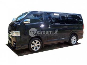 Newly registered Toyota Hiace KDH 200 Super GL