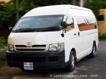 KDH 200 Passenger Model Van for Foreigners & Locals.