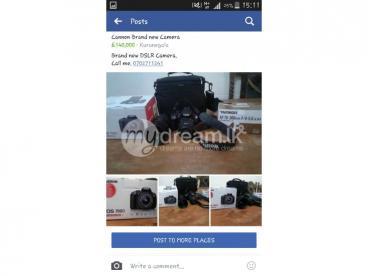 cannon brand new camera for sale