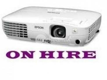 Projector rent/ hire service