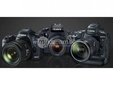 Canon Or Nikon DSLR Cameras For Rent