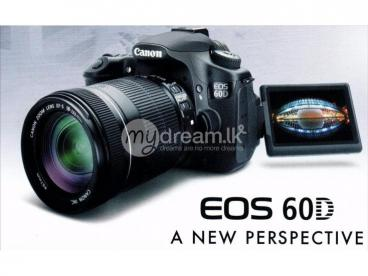 Canon 60D For Rent