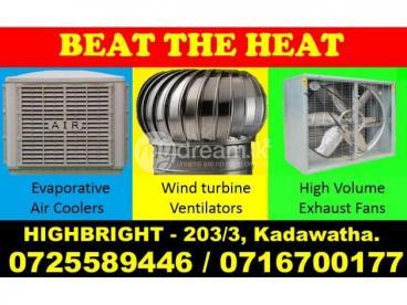 VENTILATION FANS ,Ventilation systems, solutions srilanka