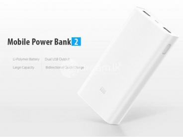 Original Mi 20000mAh Power Bank Gen 2