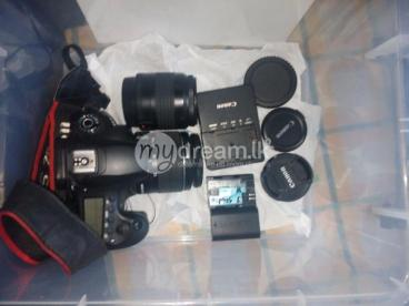 canon 60d  camera FREE 2 LENS