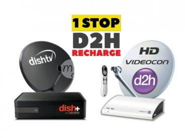 Dish TV Connection & Recharge