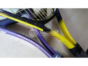 Tennis racquet pair