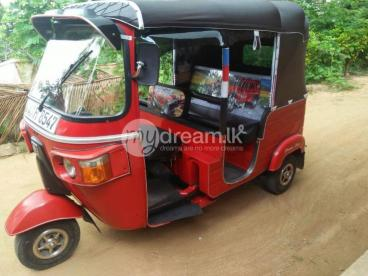 Bajaj Re205 three wheeler