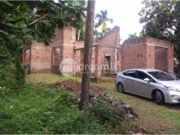 Semi-Finished House | 12P land | Maddegama, Gampaha