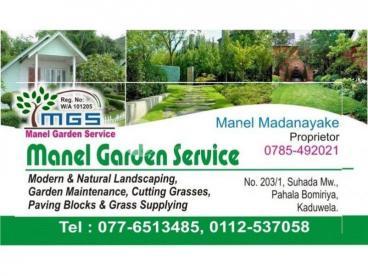 MANEL GARDEN SERVICES GRASS & INTERLOCK