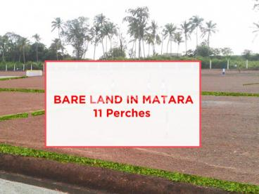 11 Perches Land in Matara, Thalpawila for urgent sale