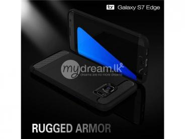 Rugged Armor Case For Galaxy S7 Edge