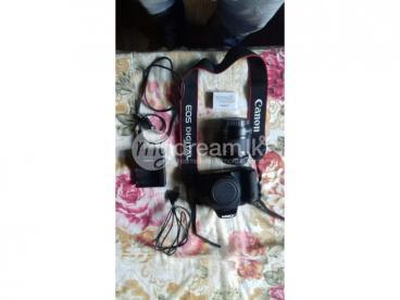 Canon 600D DSLR Camera