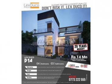 Lex Duco P14 Luxury Home for just 14 Mn