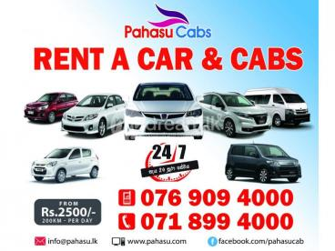 Pahasu Rent a Car and Cab Service - chilaw