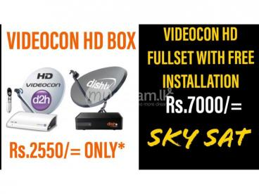 Videocon HD & Dish Tv NXT HD Connections Colombo & Gampaha Services.