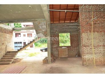 Structure and Roof completed two storied house for immediate sale - Malabe - Kahanthota
