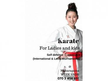 karate for ladies and kids