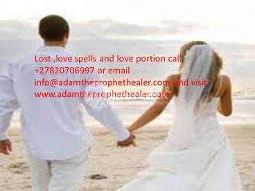 Bring back your lost love no matter how long +27820706997
