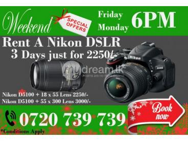 Nikon DSLR Camera Trip Packages