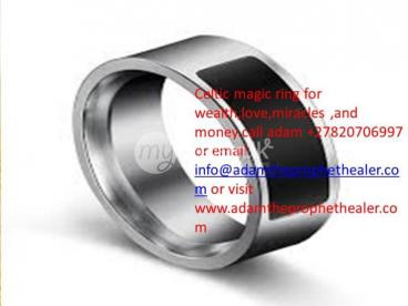 magic ring that delivers solve money problems +27820706997