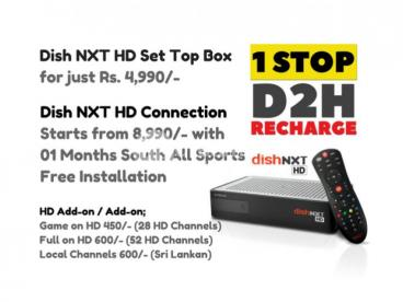 Dish TV NXT HD & Videocon HD Connections
