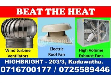Electric roof fan, roof extractor ,roof exhaust fans srilanka