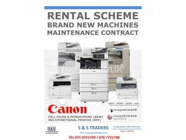 PHOTOCOPY RENT FOR OFFICE & COOPERATE  SERVICES