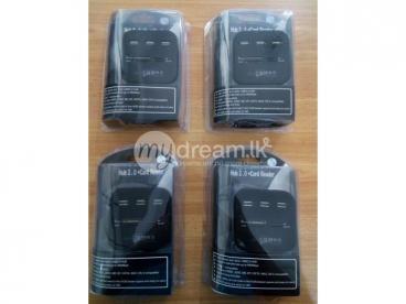 USB HUB (USB 4 PORT+CARD READER)