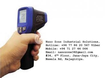 IR Laser Thermometer Gun For Sale Sri Lanka LK