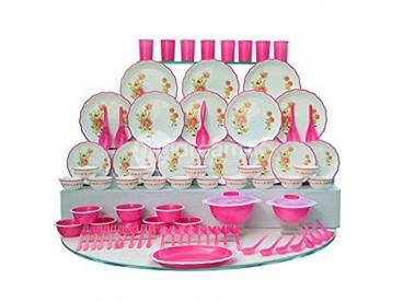 Buy a  Microwave Denso  Dinner set   (24 pcs ) at just rs .400
