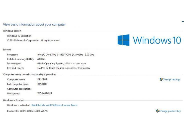 lenovo activation key windows 10