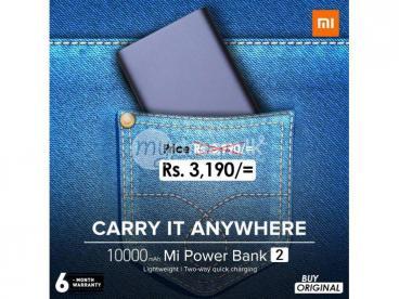 Mi Power Bank 2 - 10000mAh