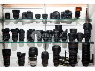 Canon DSLR Lens For Rent In Kandana