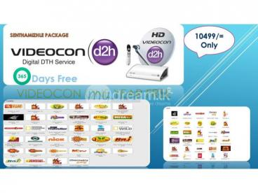 Videocon One Year Free Connections
